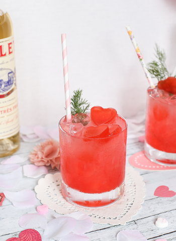 FIfty Shades of Pink Cocktail