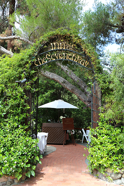 The Inn Of Seventh Ray In Los Angeles California Wedding Venue