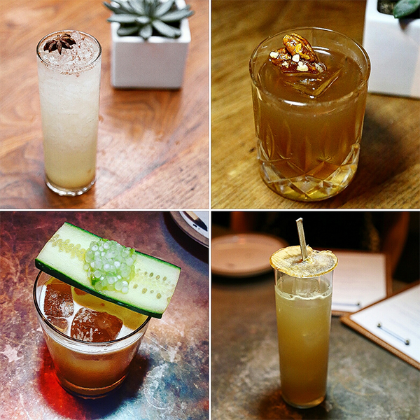 Fall Cocktails at Hinoki and the Bird in Los Angeles.