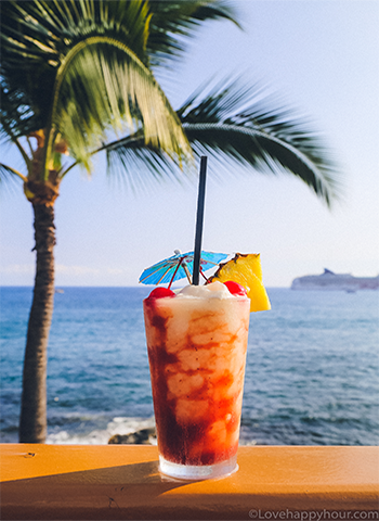 Best Happy Hours in Kona, Hawaii.