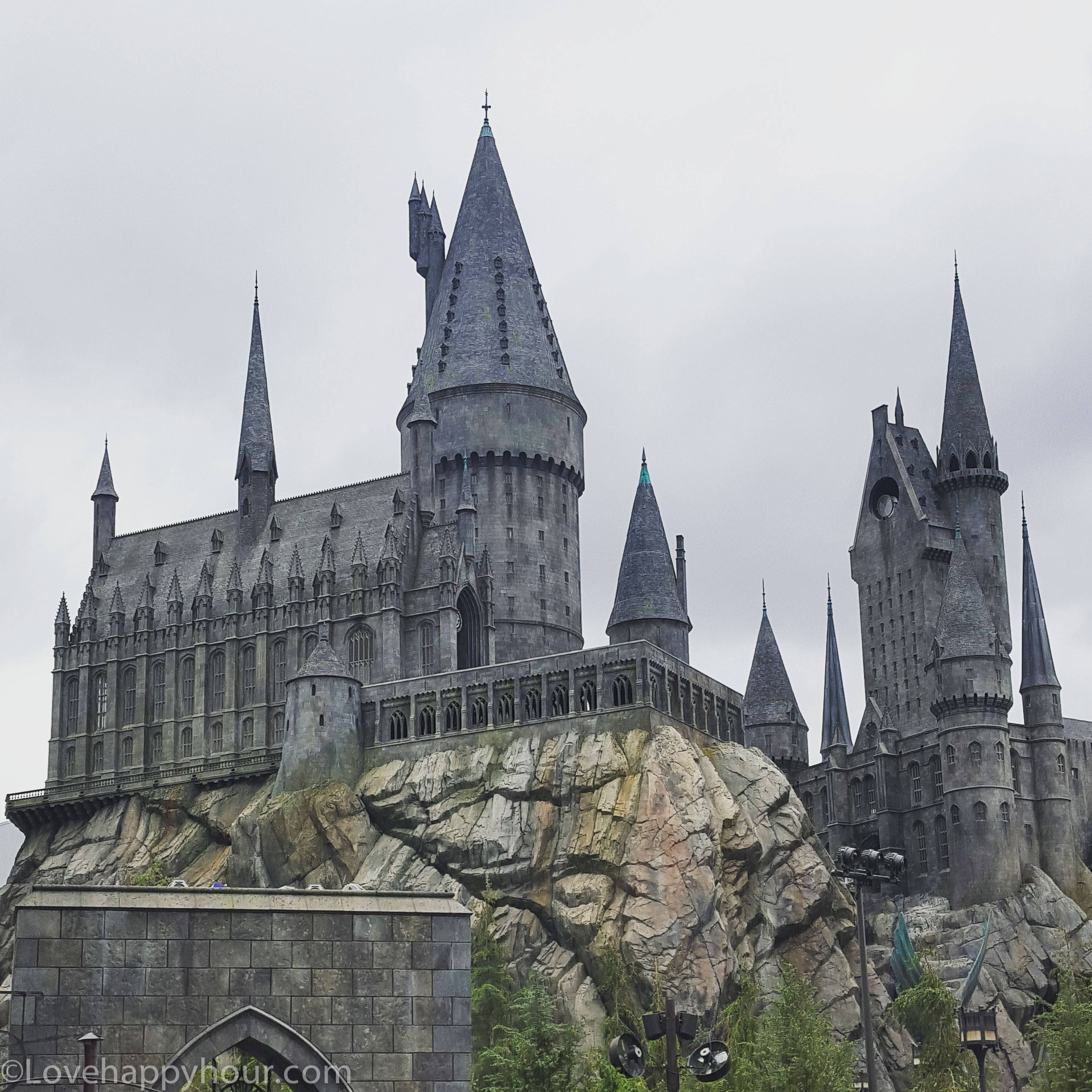 Hogwarts at the Wizarding World of Harry Potter (Universal Studios Hollywood).
