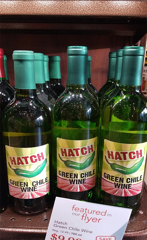 Hatch Chili Wine