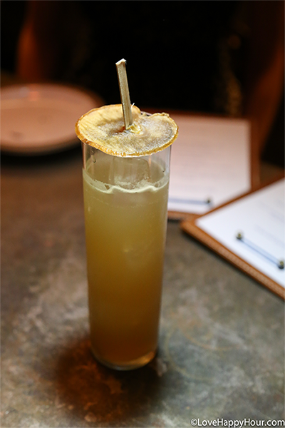 The Looking Glass Cocktail at Hinoki and the Bird.