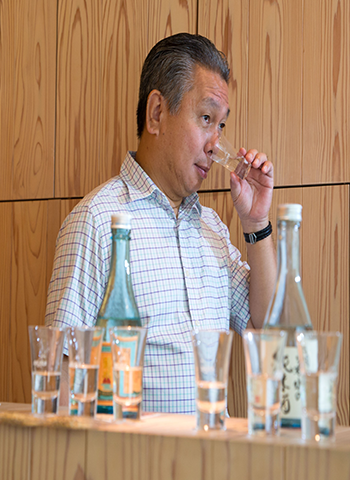 An Interview with Toshio Ueno: Master of Sake.