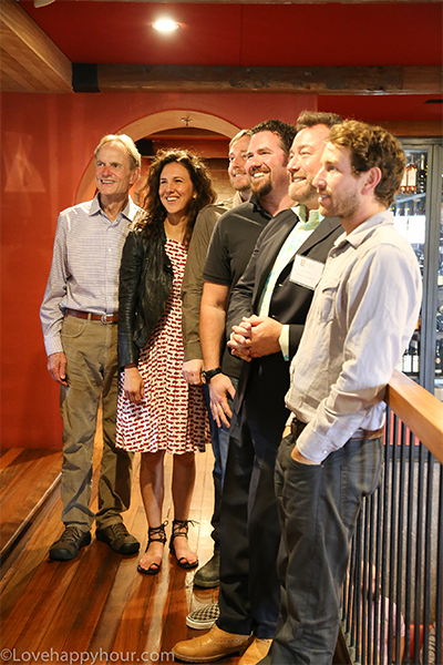 Wine panelists at the 2016 Santa Barbara Vintners Road Trip Los Angeles: Pinot Noirs.